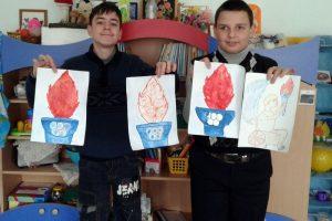 Участвуем в Республиканский конкурс рисунка «Олимпийский огонь зажигает сердца»