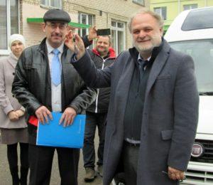 Микроавтобус Fiat для Лиозненского ЦКРОиР «Радуга»